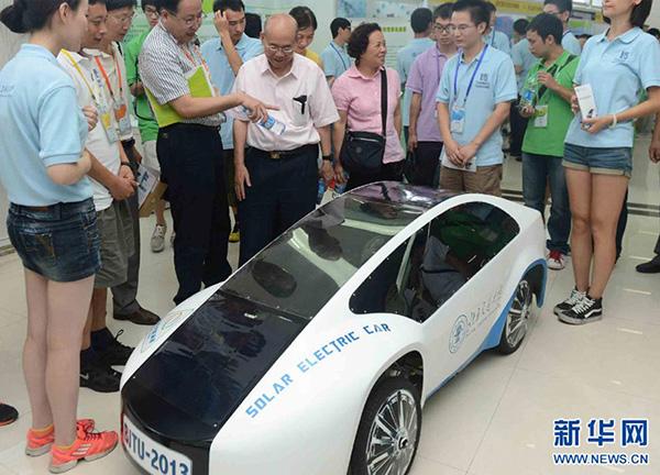 太阳能特种车改装