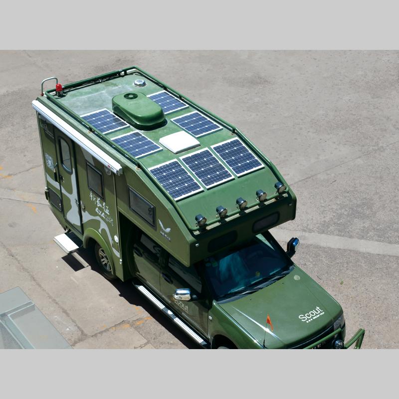 太阳能房车改装