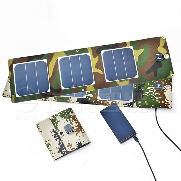 太阳能折叠充电器 【R系列】  R5-3P-10