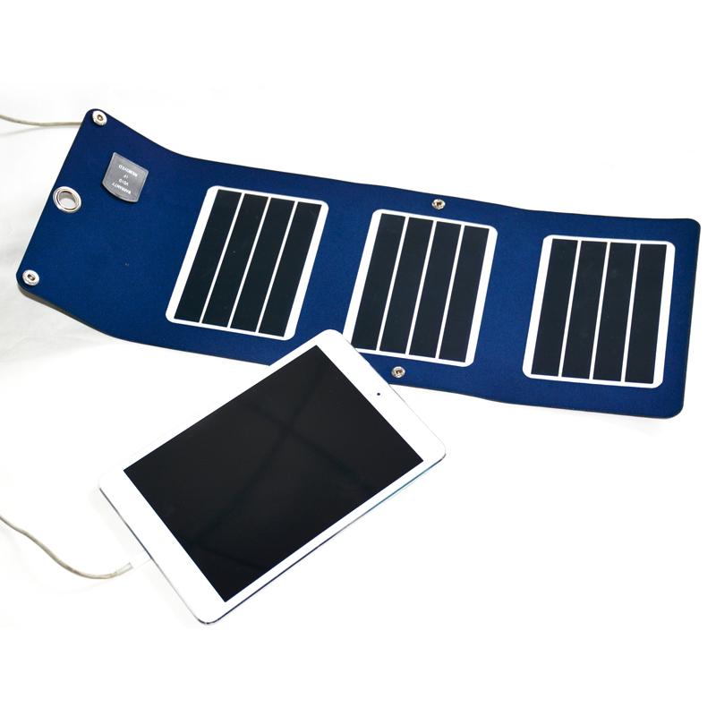 太阳能折叠充电器 【R系列】  R5-3P-6