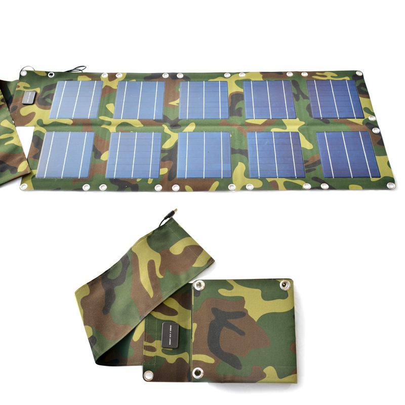 太阳能折叠充电器 【Y系列】  Y18-35