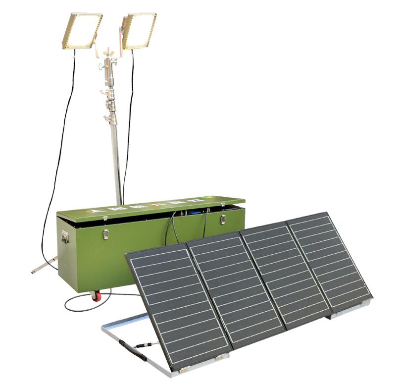 太阳能起落灯 YLY-E120-2440