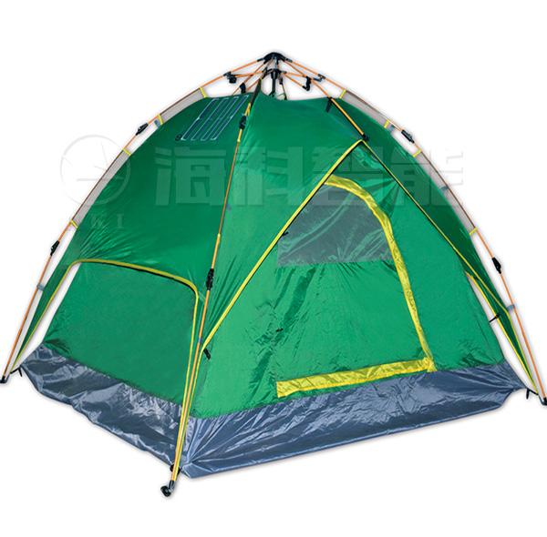 折叠太阳能帐篷