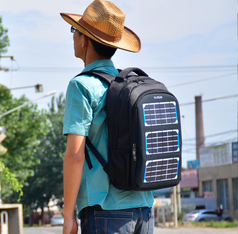 太阳能充电背包YLY-017